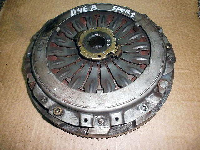Сцепление Kia Sportage. Кузов: 2. D4EA.