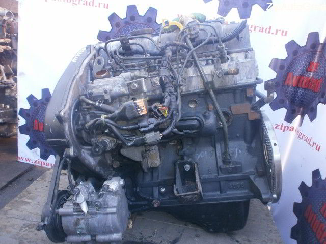 Двигатель Hyundai Terracan. D4BH. , 2.5л., 99л.с.  фото 3