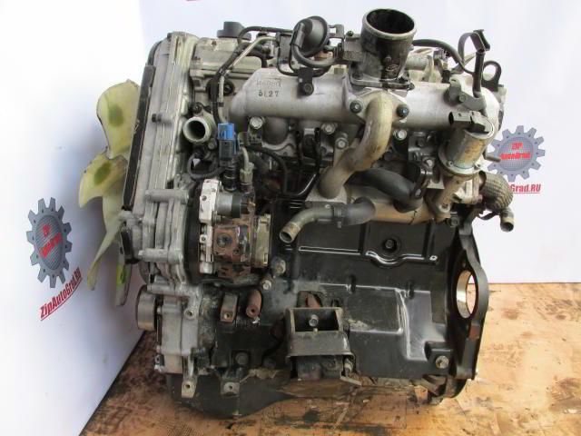 Двигатель Hyundai Starex. D4CB. , 2.5л., 140л.с.  фото 3
