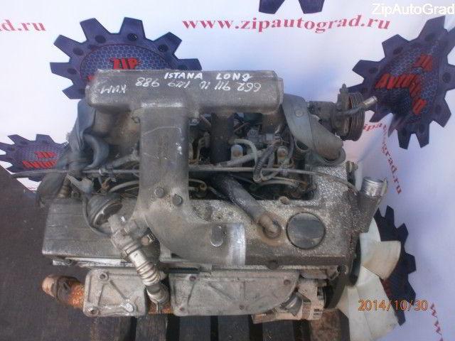 Двигатель Ssangyong Istana. 662911. , 2.9л., 120л.с.  фото 2