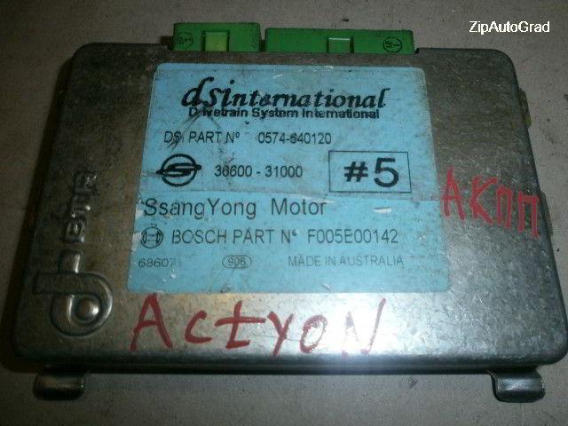 Блок управления автоматом 36600-31000 Ssangyong Actyon. D20DT.
