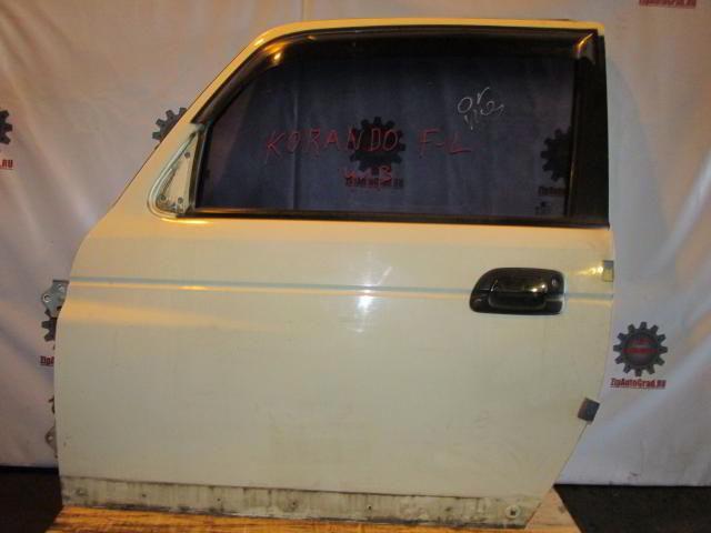 Передняя левая дверь Korando.  фото 2