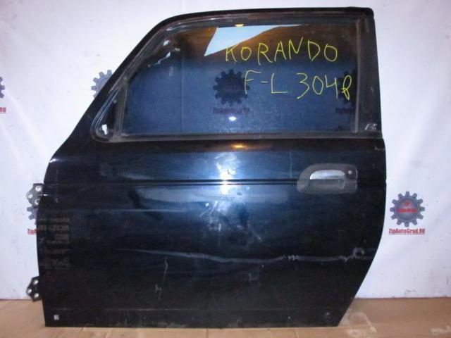 Передняя левая дверь Korando.  фото 3