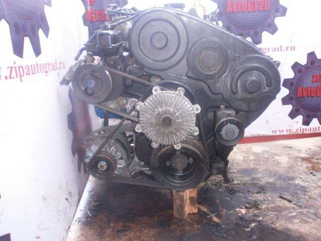Двигатель Hyundai Galloper. D4BF. , 2.5л., 99л.с.  фото 2