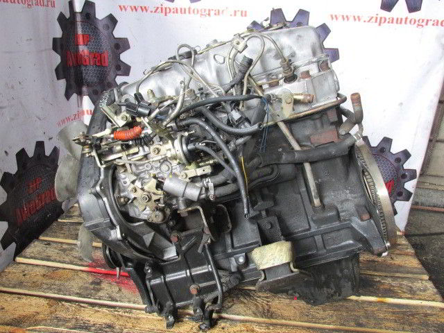 Двигатель Hyundai Galloper. D4BH. , 2.5л., 99л.с.  фото 4