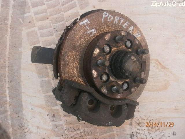 Передняя правая ступица Hyundai Porter. Кузов: 2. D4CB.  фото 2
