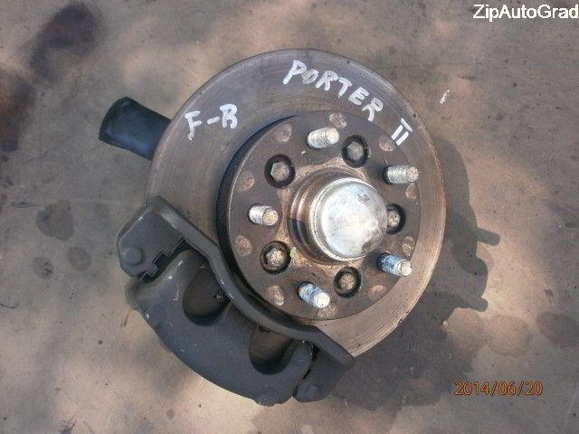 Передняя правая ступица Hyundai Porter. Кузов: 2. D4CB.  фото 4