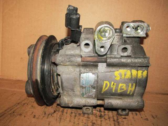 Компрессор кондиционера Hyundai Starex. D4BH.  фото 2