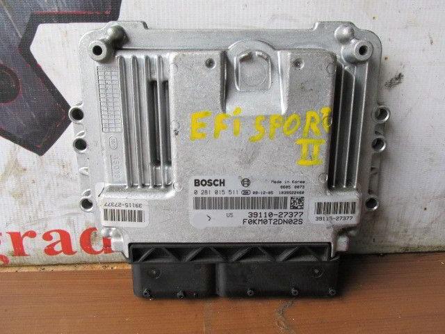 Блок управления efi 39110-27377 Kia Sportage. Кузов: 2. D4EA.