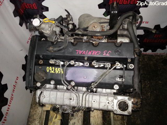 Двигатель Kia Carnival. J3. , 2.9л., 126л.с.  фото 2