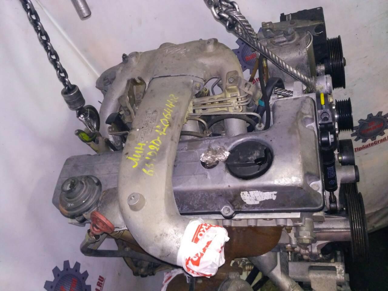 Двигатель Ssangyong Korando. 661920. , 2.3л., 79л.с.