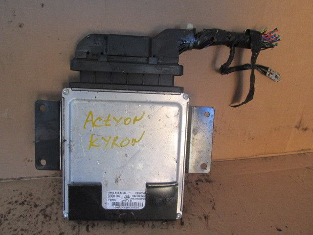 Блок управления efi A6645406432 Ssangyong Kyron. D20DT.