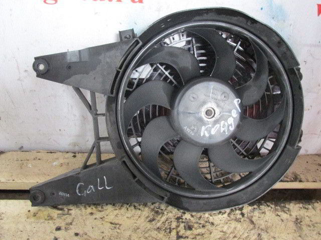 Вентилятор радиатора кондиционера Hyundai Galloper. D4BH.