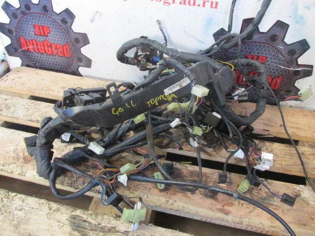 Электропроводка Hyundai Galloper. D4BH.