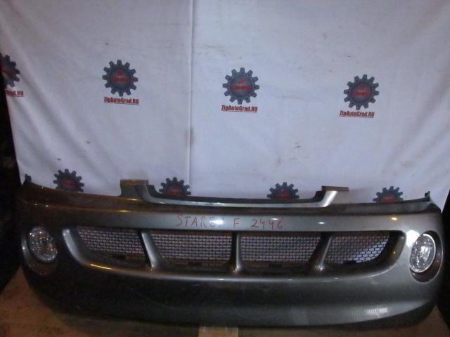 Передний бампер Hyundai Starex. Дата выпуска: до 03г.  фото 2