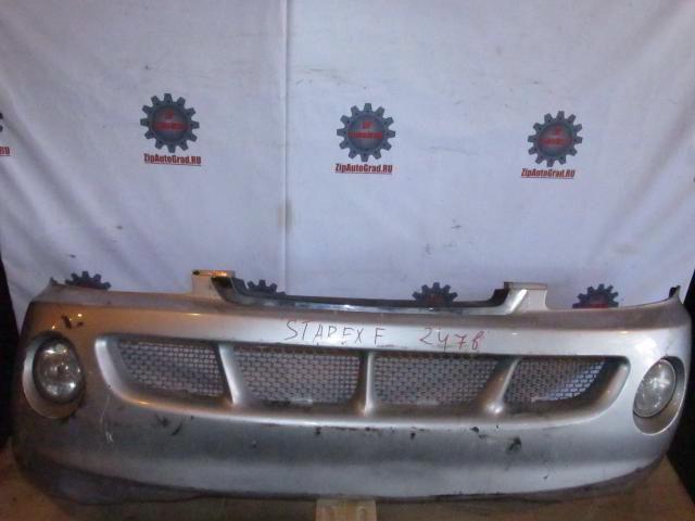 Передний бампер Hyundai Starex. Дата выпуска: до 03г.  фото 3