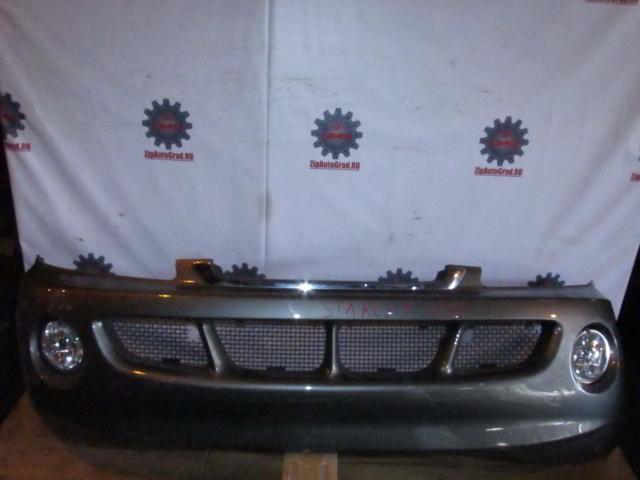 Передний бампер Hyundai Starex. Дата выпуска: до 03г.  фото 4