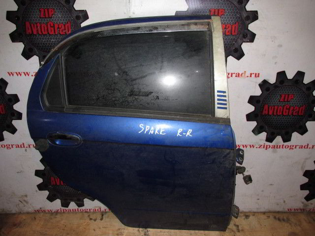 Задняя правая дверь Chevrolet Spark.  фото 2
