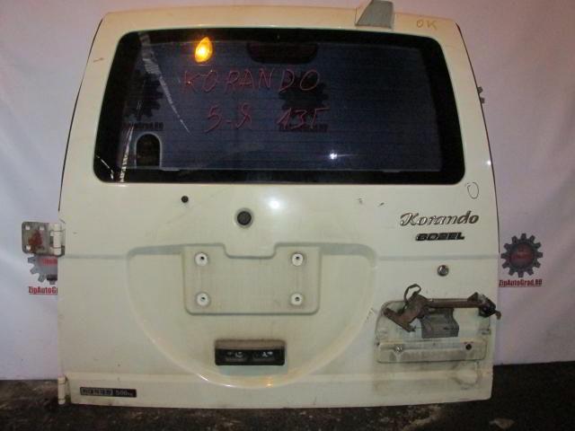 Дверь задняя Ssangyong Korando.  фото 2
