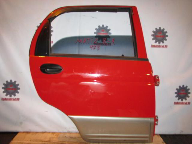 Задняя правая дверь Daewoo Matiz.  фото 3