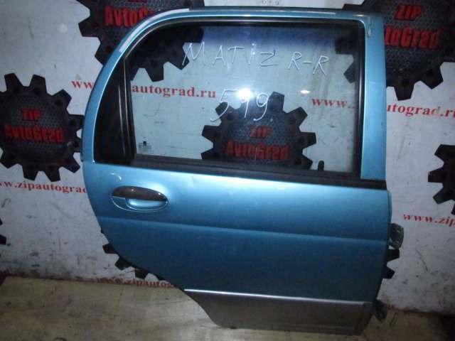 Задняя правая дверь Daewoo Matiz.  фото 4