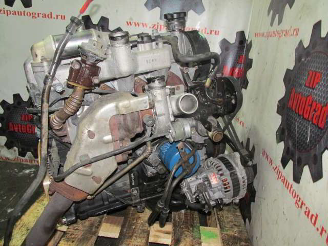 Двигатель Starex. D4BH. , 2.5л., 99л.с.  фото 2