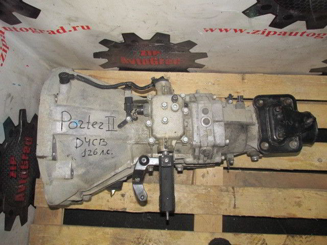 МКПП Hyundai Porter. Кузов: 2. D4CB. , 2.5л., 126л.с.