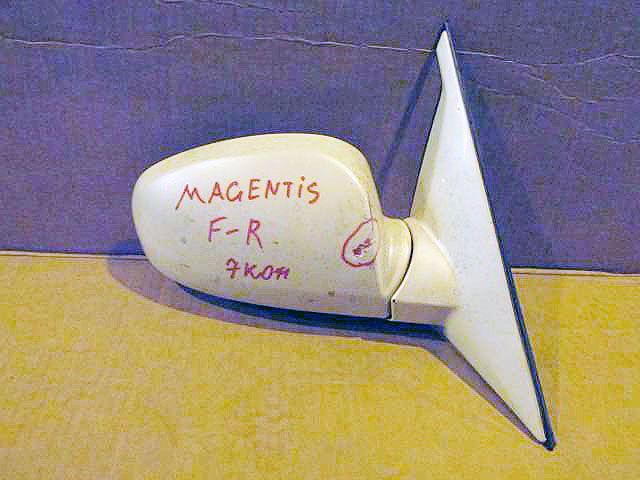 Правое зеркало Kia Magentis. Дата выпуска: 2002-06.