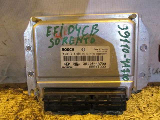 Блок управления efi 39110-4A700 Kia Sorento.