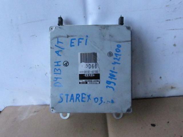 Блок управления efi 39110-4A150 Hyundai Starex. D4CB. Дата выпуска: 04-07.  фото 3