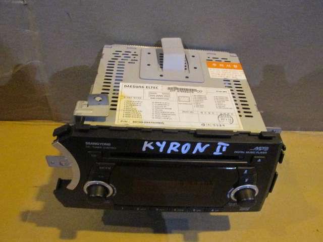 Магнитофон 89100-09470 Ssangyong Kyron. Кузов: 2.