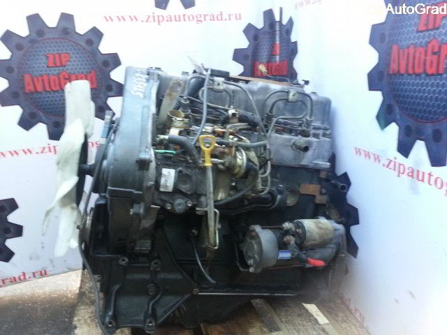 Двигатель Hyundai Starex. D4BB. , 2.5л., 80л.с.  фото 4