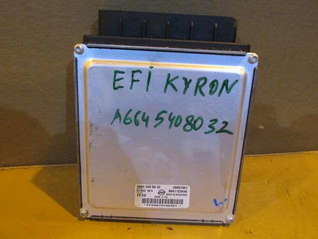 Блок управления efi A6645408032 Ssangyong Kyron. D20DT.