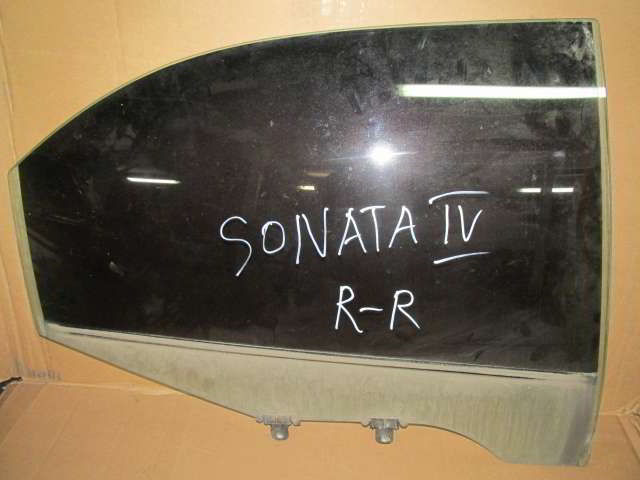 Заднее правое стекло двери Hyundai Sonata. Кузов: 5.