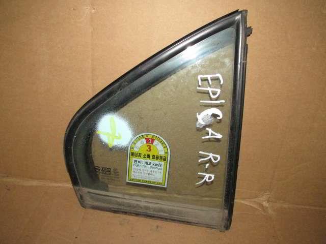 Заднее правое стекло двери Chevrolet Epica.