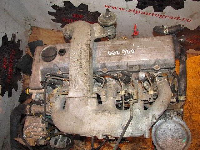Двигатель Ssangyong Musso. 662920. , 2.9л., 122л.с.