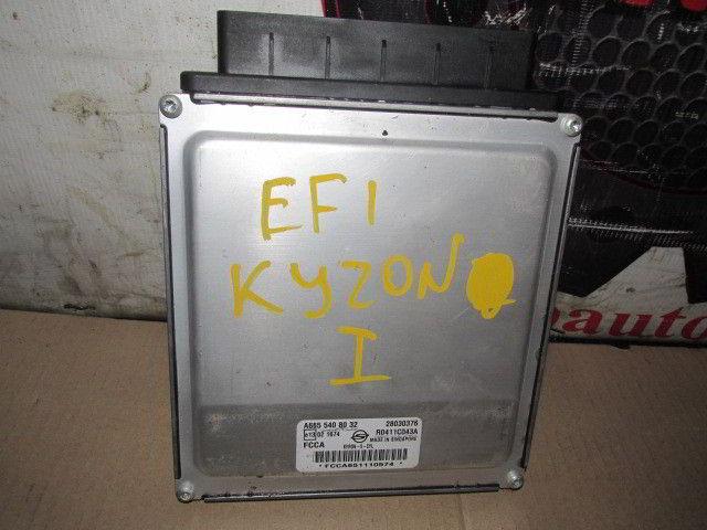 Блок управления efi A6655408032 Ssangyong Kyron. Кузов: 1. D27DT.