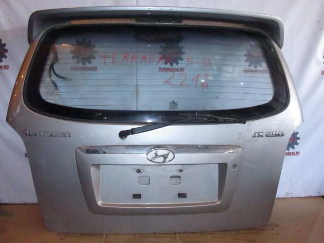 Дверь задняя Hyundai Terracan.  фото 3