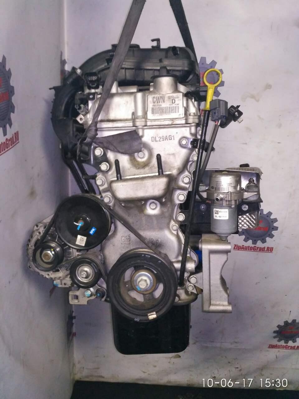 Двигатель Chevrolet Spark. Кузов: NEW. B10D2. , 1.0л.Дата выпуска: 2010-.