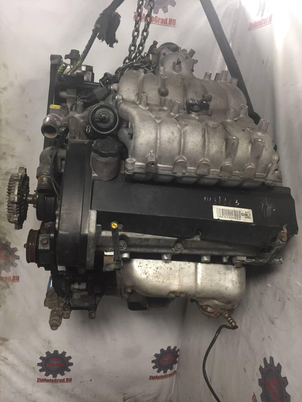 Двигатель Hyundai Terracan. G6CU. , 3.5л., 197л.с.  фото 2