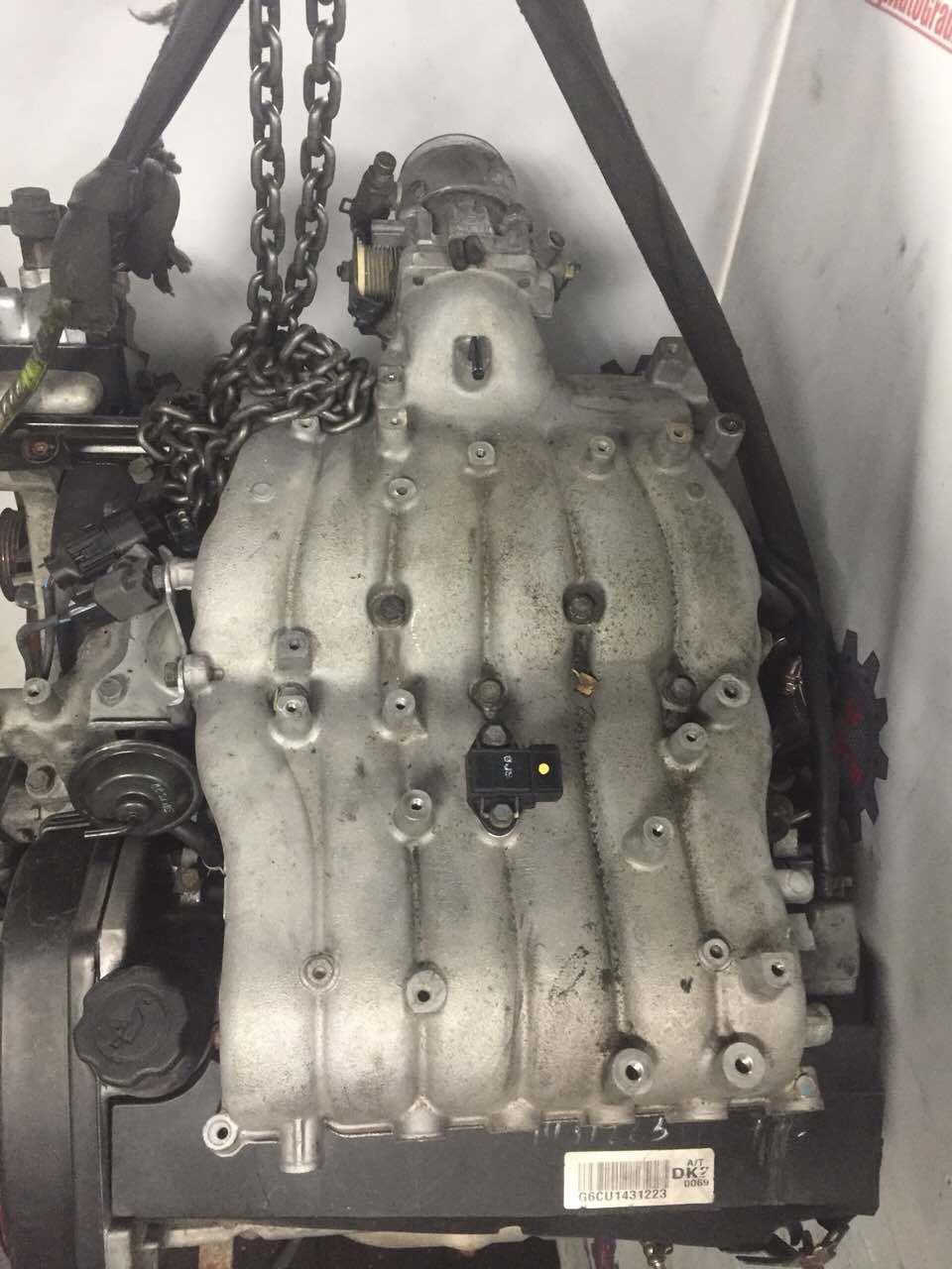 Двигатель Hyundai Terracan. G6CU. , 3.5л., 197л.с.  фото 3