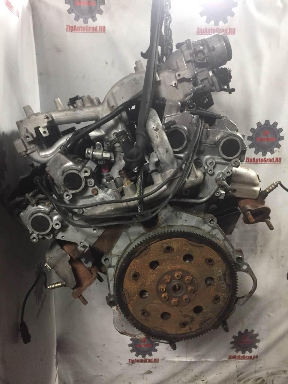 Двигатель Hyundai Terracan. G6CU. , 3.5л., 197л.с.  фото 4