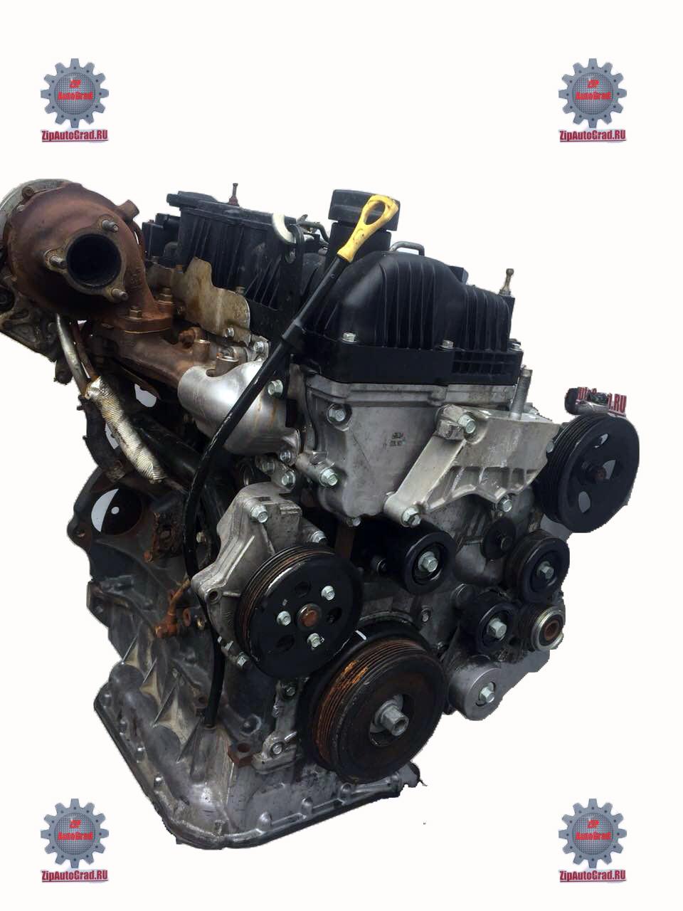 Двигатель Hyundai Santa fe. Кузов: 3. D4HB. , 2.2л., 197л.с.