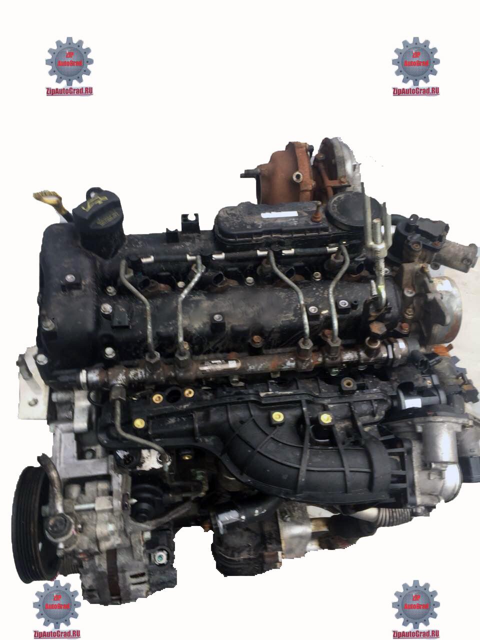 Двигатель Hyundai Santa fe. Кузов: 3. D4HB. , 2.2л., 197л.с.  фото 4