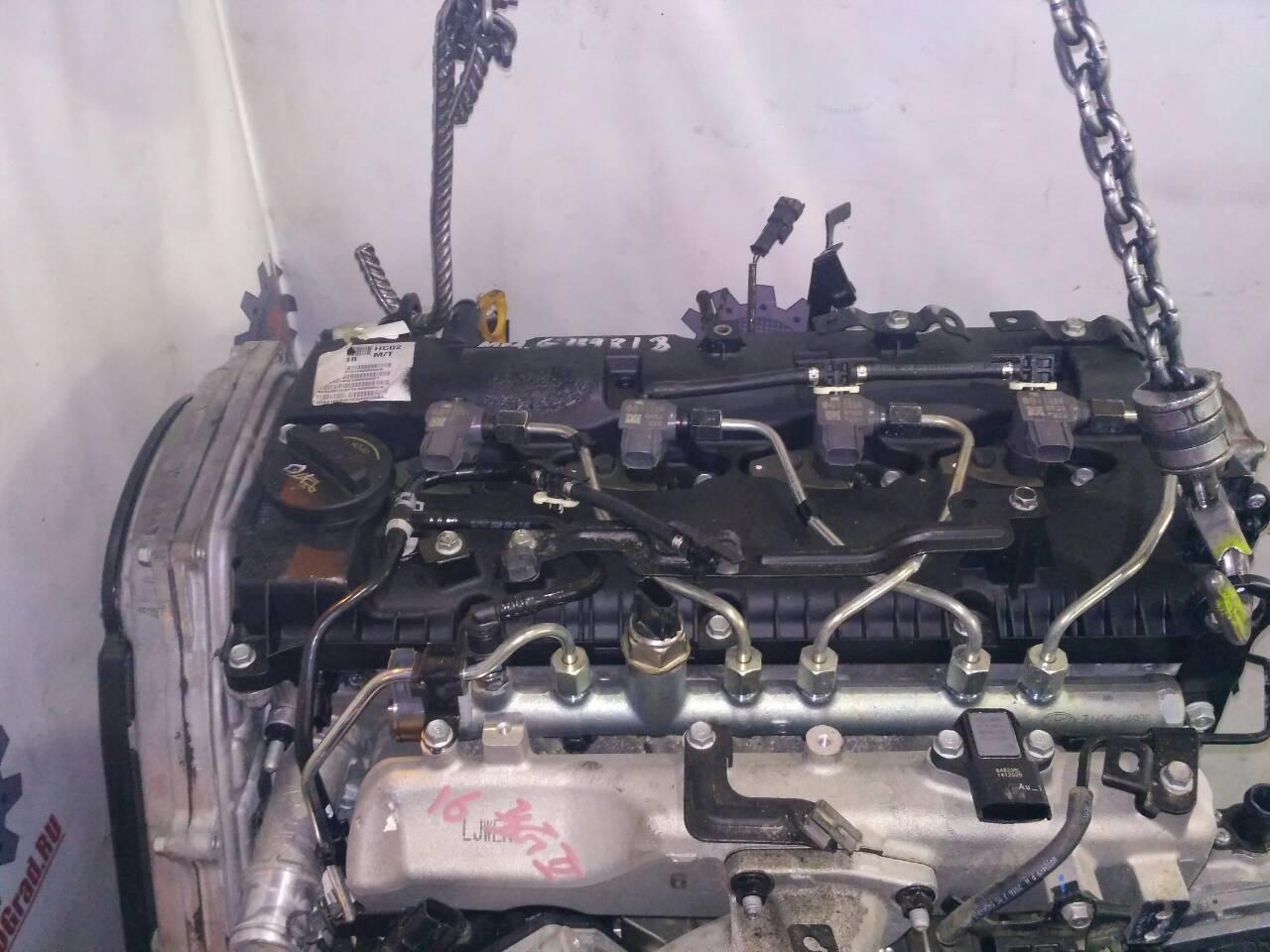 Двигатель Hyundai Porter. Кузов: 2. D4CB. , 2.5л.Дата выпуска: 2016.  фото 2