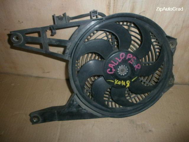 Вентилятор радиатора кондиционера Hyundai Galloper. D4BF.