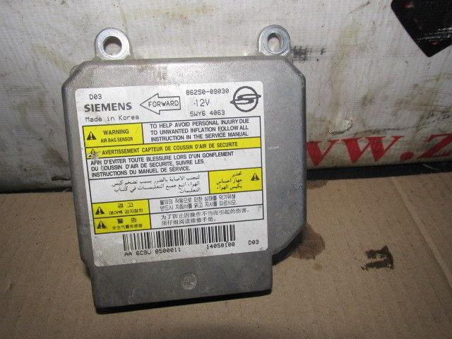 Блок управления airbag 86250-09030 Ssangyong Kyron. Кузов: 1. D27DT.